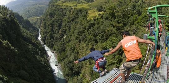 Bungee Jumping in the Last Resort