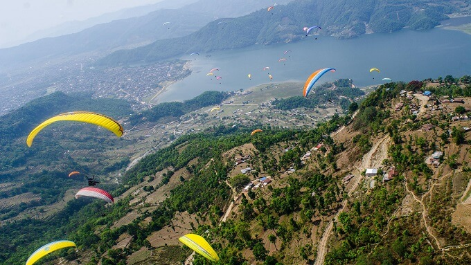 Image result for pokhara paragliding newlyplace
