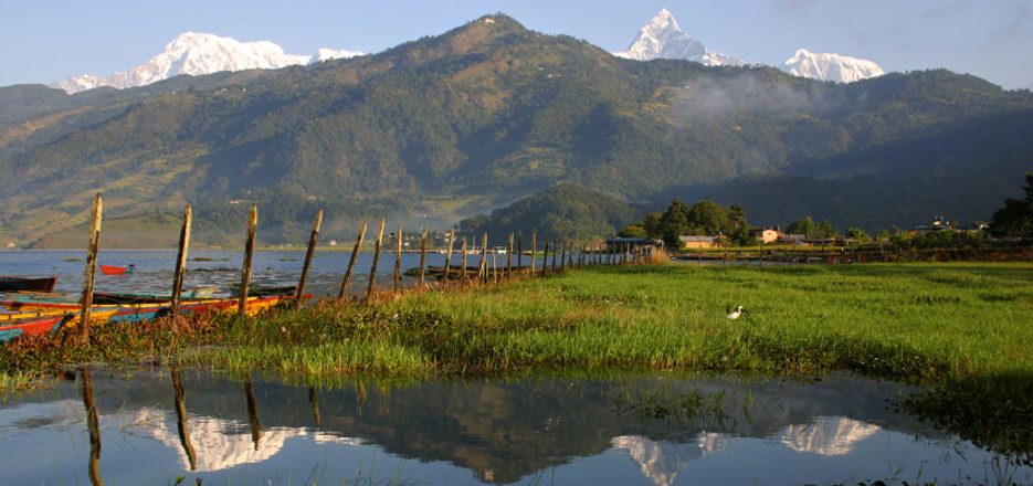 Weather in Nepal- Fewa Lake