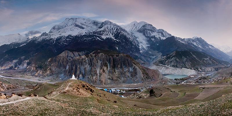 Annapurna Massif Panorama