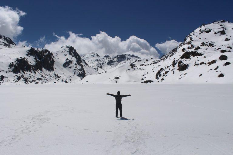 Trek in Winter