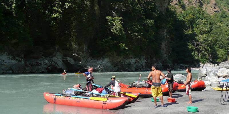 Kali Gandaki River Rafting (2)