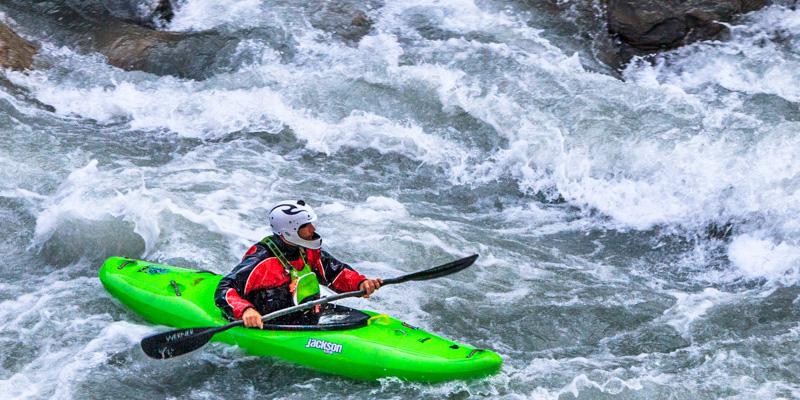 River Rafting, Tatopani, Annapurna Circuit, Nepal