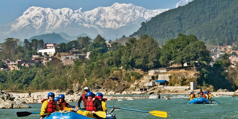 OAT, NEPAL December 2010, rafting Seti River