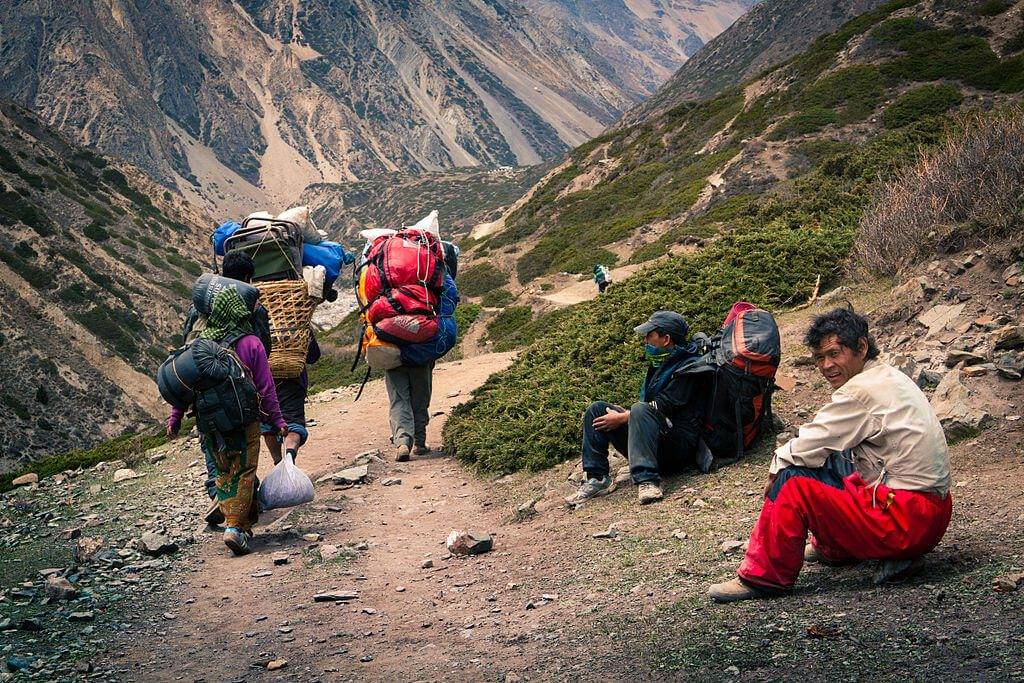 Cost of Guide and Porter in Nepal