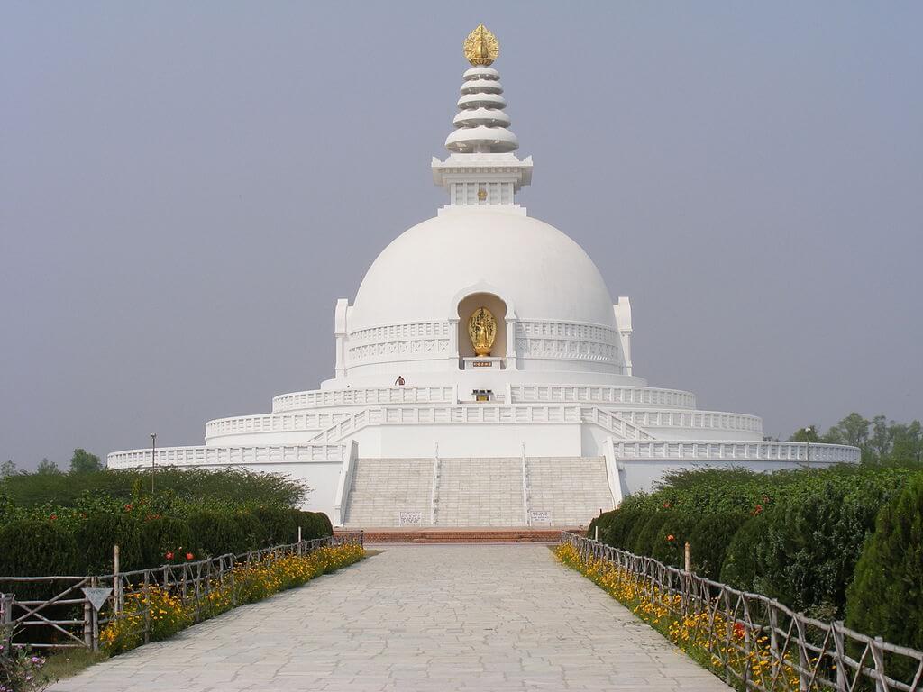 World Peace Pagoda Hike with kids