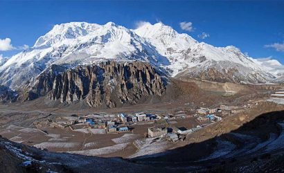 annapurna circuit trek weather and temperature