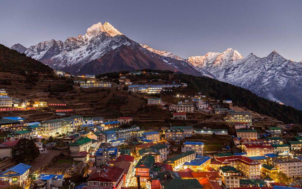 7 day Everest Base Camp Trek Namche Bazaar