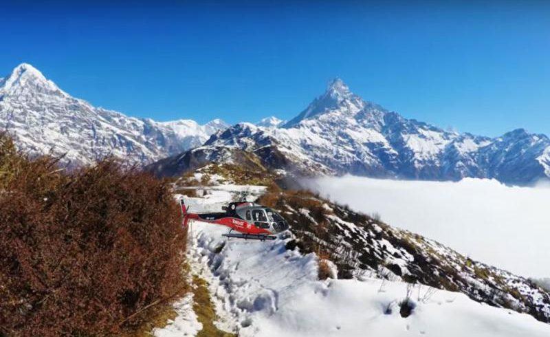 Mardi Himal Base Camp Helicopter Tou