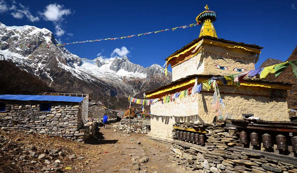 Where is Mount Manaslu Located?