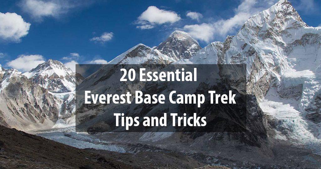 Everest Base Camp Trek Tips and Tricks